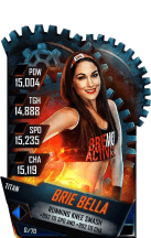 SuperCard BrieBella S4 18 Titan
