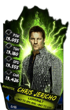 SuperCard ChrisJericho S4 17 Monster