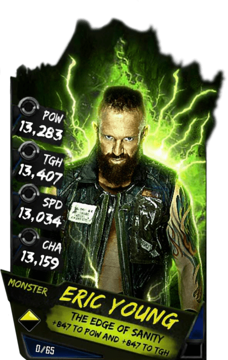 SuperCard EricYoung S4 17 Monster