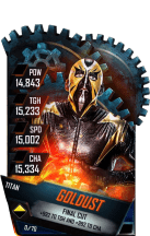 SuperCard Goldust S4 18 Titan