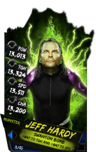 SuperCard JeffHardy S4 17 Monster