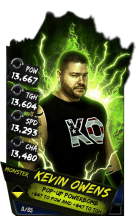 SuperCard KevinOwens S4 17 Monster