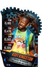 SuperCard KofiKingston S4 18 Titan