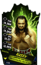SuperCard Rusev S4 17 Monster