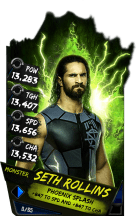 SuperCard SethRollins S4 17 Monster