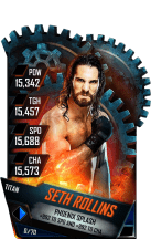 SuperCard SethRollins S4 18 Titan