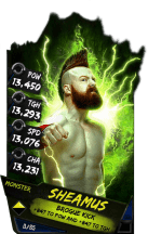 SuperCard Sheamus S4 17 Monster