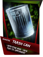 SuperCard Support TrashCan S4 17 Monster