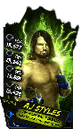 SuperCard AJStyles S4 17 Monster
