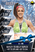 SuperCard Bayley S3 11 Hardened Christmas