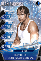 SuperCard DeanAmbrose S3 13 Ultimate Christmas
