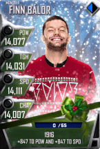 SuperCard FinnBalor S4 17 Monster Christmas