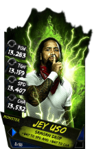 SuperCard JeyUso S4 17 Monster