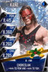 SuperCard Kane S3 14 WrestleMania33 Christmas