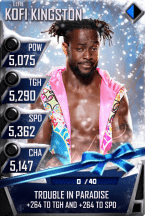 SuperCard KofiKingston S3 12 Elite Christmas