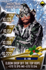 SuperCard MachoManRandySavage S3 15 SummerSlam17 Christmas