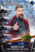 SuperCard MickFoley S4 16 Beast Christmas