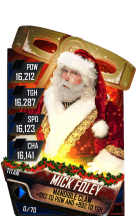 SuperCard MickFoley S4 18 Titan RingDom