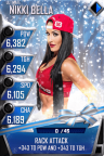 SuperCard NikkiBella S3 13 Ultimate Christmas