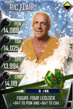 SuperCard RicFlair S4 17 Monster Christmas