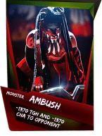 SuperCard Support Ambush S4 17 Monster