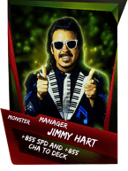 SuperCard Support JimmyHart S4 17 Monster