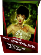 SuperCard Support SensationalSherri S4 17 Monster
