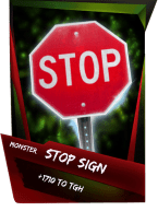 SuperCard Support StopSign S4 17 Monster