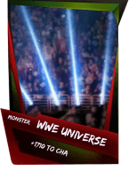 SuperCard Support WWEUniverse S4 17 Monster