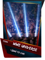 SuperCard Support WWEUniverse S4 18 Titan