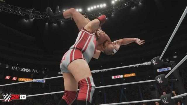 WWE2K18 NewMoves CrashLanding