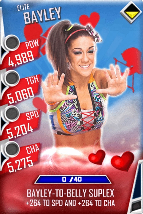 SuperCard Bayley S3 12 Elite Valentine