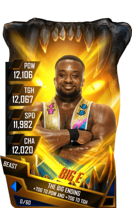 SuperCard BigE S4 16 Beast Fusion