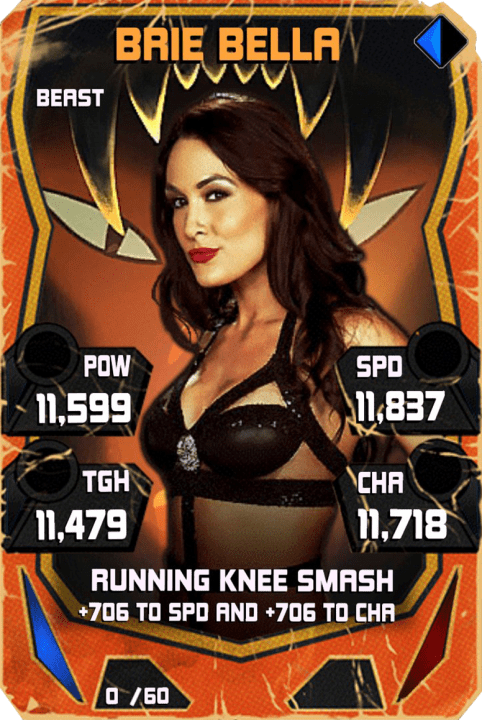 SuperCard BrieBella S4 16 Beast Throwback