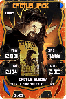 SuperCard CactusJack S4 16 Beast Throwback