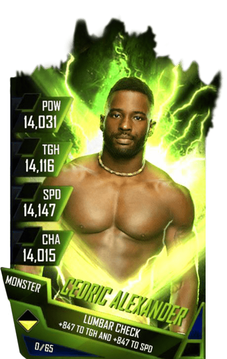 SuperCard CedricAlexander S4 17 Monster Fusion