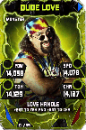 SuperCard DudeLove S4 17 Monster Throwback