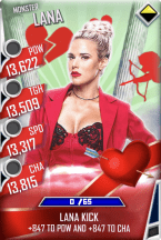 SuperCard Lana S4 17 Monster Valentine
