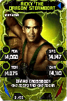 SuperCard RickySteamboat S4 17 Monster Throwback