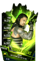 SuperCard RomanReigns S4 17 Monster Fusion