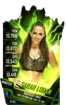 SuperCard SarahLogan S4 17 Monster Fusion