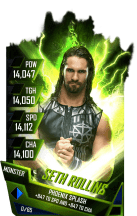 SuperCard SethRollins S4 17 Monster Fusion