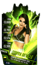 SuperCard SonyaDeville S4 17 Monster Fusion