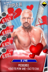 SuperCard TripleH S3 13 Ultimate Valentine