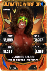 SuperCard UltimateWarrior S4 16 Beast Throwback