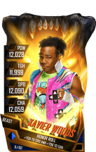 SuperCard XavierWoods S4 16 Beast Fusion