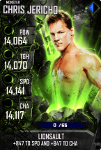 SuperCard ChrisJericho S4 17 Monster Spring