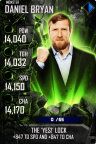 SuperCard DanielBryan S4 17 Monster Spring
