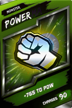 SuperCard Enhancement Power S4 17 Monster