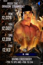 SuperCard RickySteamboat S4 16 Beast Spring
